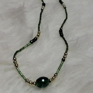 5/$25 Kids cute green necklace